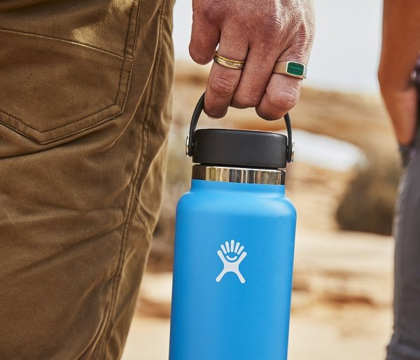Termos Hydro Flask Wide Mouth 2.0 Flex Cap 946 ml sunflower vsco