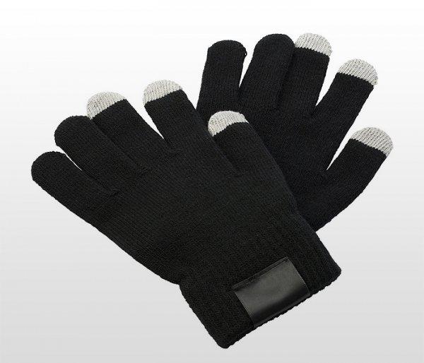 Rękawiczki do smartfona KLIKS (czarne)