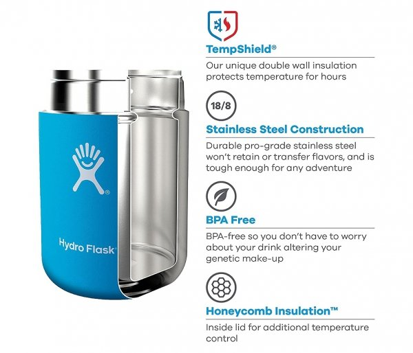 Termos na posiłek Food Flask 532 ml Hydro Flask