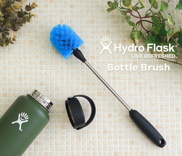 Szczotka myjka do kubków i butelek Hydro Flask Bottle Brush niebieski-pacific