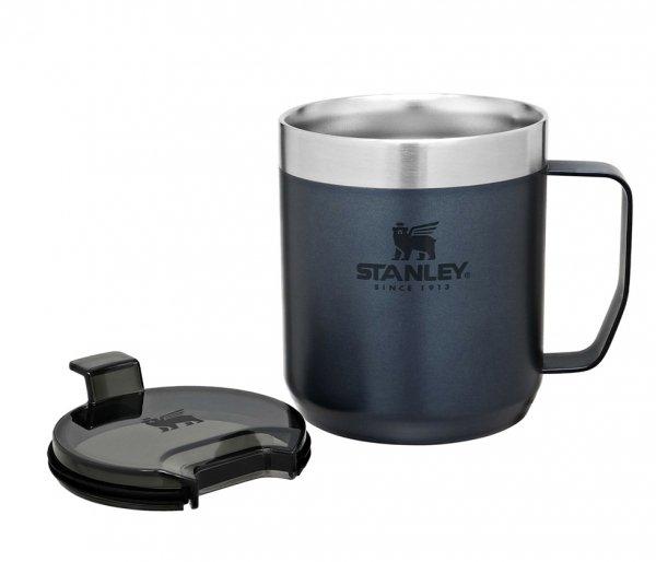 Kubek termiczny kempingowy Stanley Classic Camp Mug 350 ml granatowy