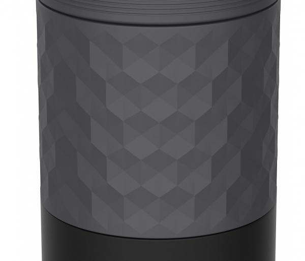 Kubek termiczny Kambukka Etna Grip 500 ml Black Steel czarny