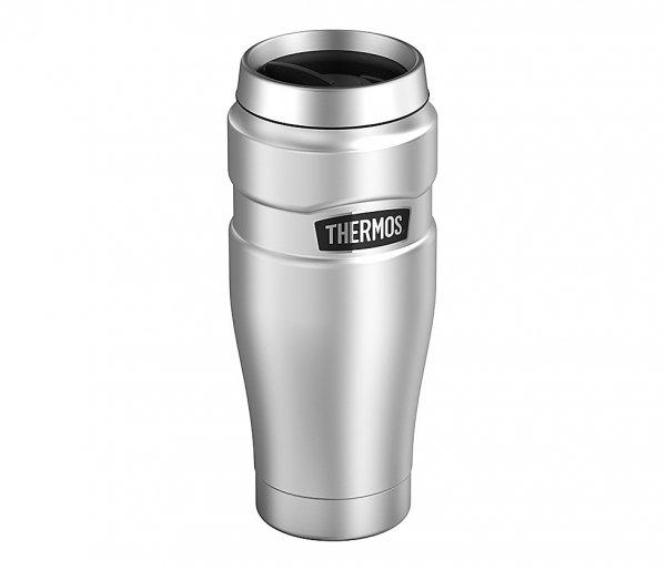 Kubek termiczny Thermos Travel King 470 ml stalowy