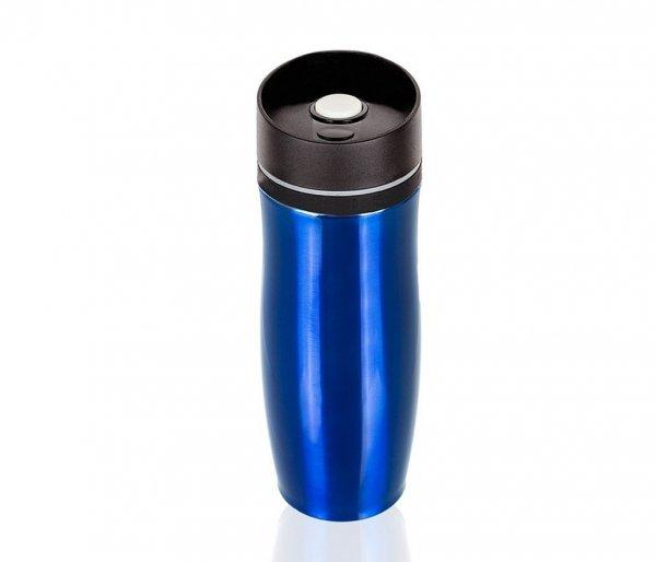 Kubek termiczny PROOFI 350 ml na klik niebieski błysk