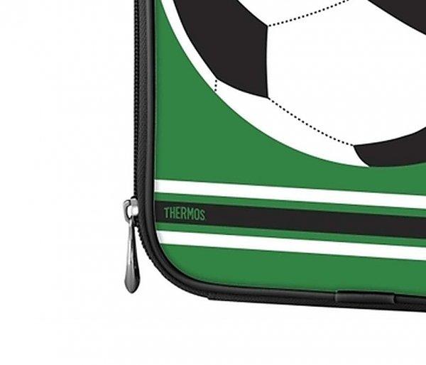 Torba termiczna Thermos FUNtainer 2.3 L zielony motyw piłka