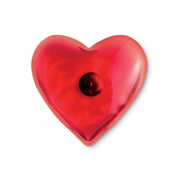 Ogrzewacz do rąk serce HOTY czerwony