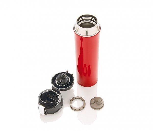Kubek termiczny 450 ml OUTER2 K2 czerwony