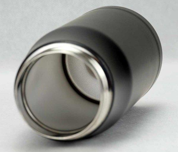 Kubek termiczny 600 ml T-READY2 czarny/czerwony
