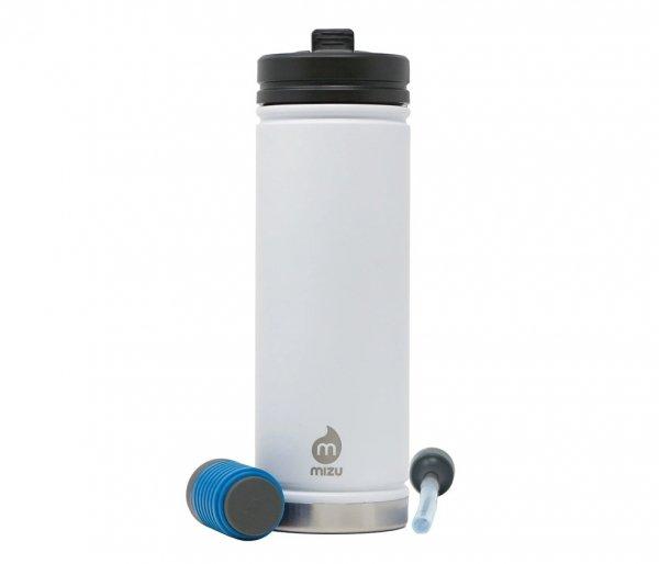 Kubek termiczny z filtrem do wody V7 650 ml MIZU 360 Everyday Kit biały