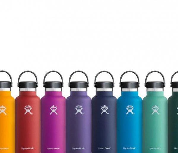 Butelka termiczna Hydro Flask 532 ml Standard Mouth Flex Cap spearmint - miętowy vsco