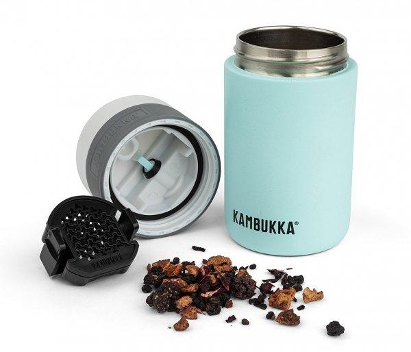 Sitko do herbaty Tea Mesh do kubka Kambukka Etna czarny
