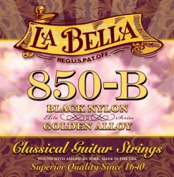 LABELLA 850B  STRUNY 850B  NYLON CZARNE