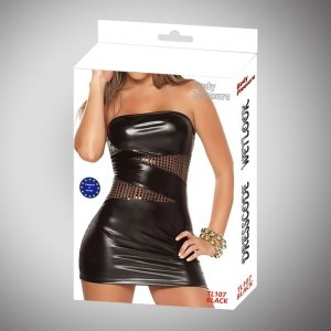 Bielizna - Wetlook Dress Black one size