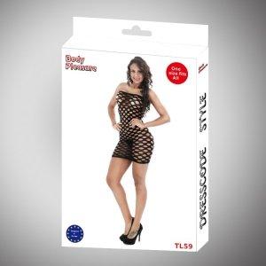 Body Pleasure - Sexy Lingerie Set - one size - black TL59