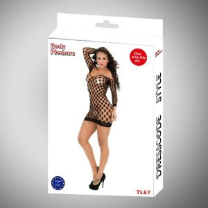 Body Pleasure - Sexy Lingerie Set - one size - black TL67