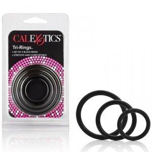Pierścień-TRI-RINGS BLACK
