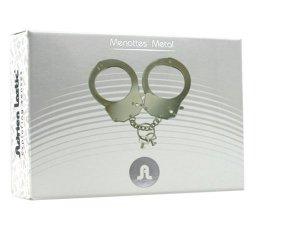 Kajdanki-Śmieszna zabawka-kadank- Metallic Handcuffs