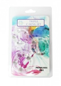 Pierścień-C-RING SET-cristal