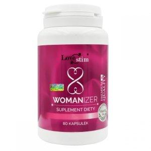 Womanizer 80kaps doskonały suplement na libido i wzmocnienie doznań