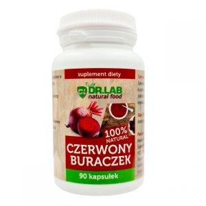 Czerwony Buraczek NATURAL 90kaps 500mg