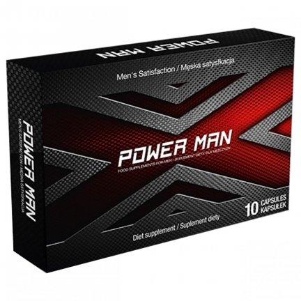 POWERMAN 10kaps mocna erekcja
