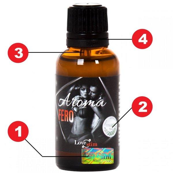 5x Aroma Fero 30ml Pierwsze feromony do seksu dla par