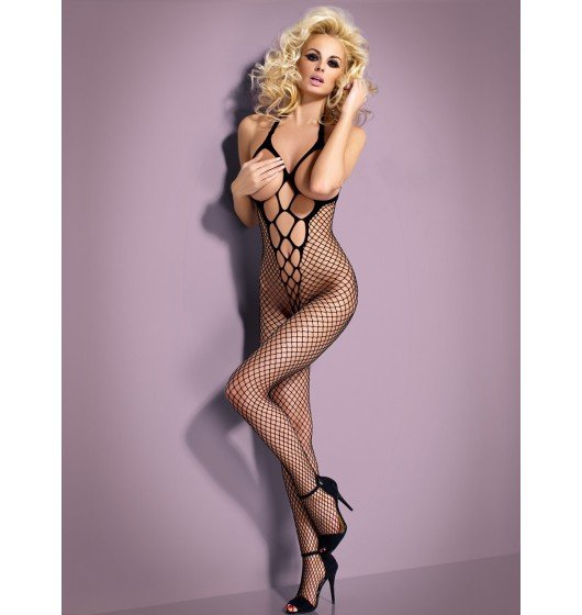 Bodystocking N106 czarne S/M/L