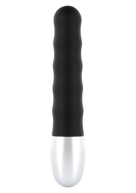 Wibrator-DISCRETION VIBE RIBBED BLACK