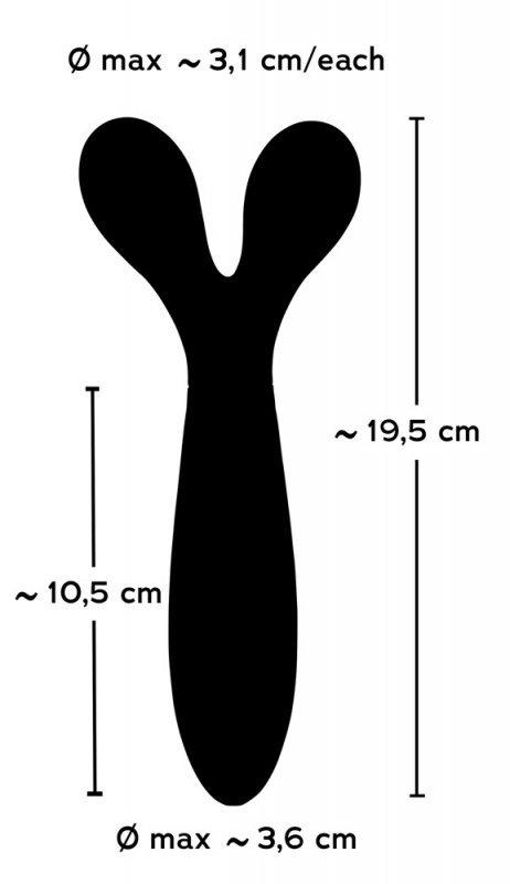 Wibrator 19,5 cm Couples Choice