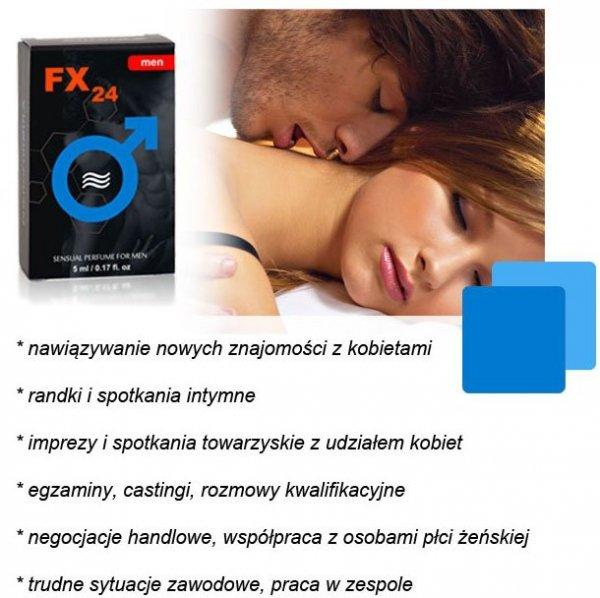 FX24 for men - aroma, roll-on 5 ml
