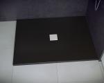 Brodzik prostokątny Nox Ultraslim czarny 120x90