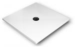 Brodzik kwadratowy 100x100x4 De Luxe Stabilsound Plus
