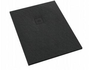Brodzik prostokątny kompozytowy Schedline PROTOS Black Stone 120x80