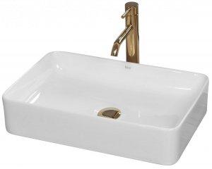 Umywalka ceramiczna nablatowa Avia 51x35