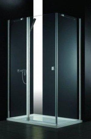 WYPRZEDAŻ! Kabina prysznicowa SAREMA PLUS 120x80 cm LEWA