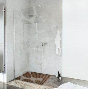 Ścianka prysznicowa narożna Easy In 100 szkło stellar 1-stonna
