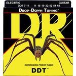 Struny DR Drop-Down Tuning 011-054 elektryk