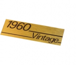 Logo Marshall 1960 Vintage   ORYGINAŁ