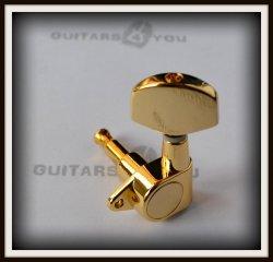 Klucz gitarowy J101 typ Schaller GOLD PRAWY
