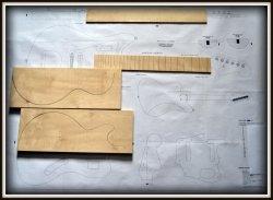 Plan budowy gitary FENDER JAGUAR 1962