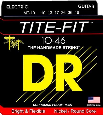 Struny DR TITE-FIT 10-46 elektryk