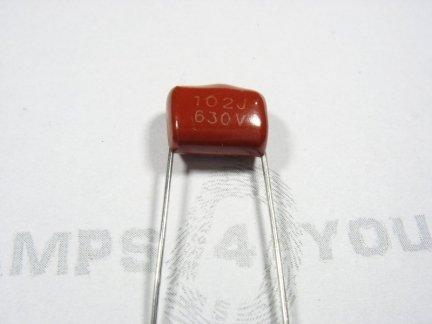 Kondensator foliowy metalizowany  1nF 630V 3szt.