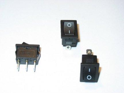 Przełącznik kołyskowy SY601 6A/250VAC 3PIN