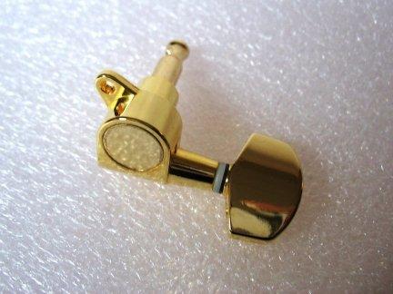 Klucz J01 3+3 typ Schaller GOLD prawy 1 szt.