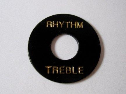 Płytka Rhythm/Treble Typ GIBSON Black