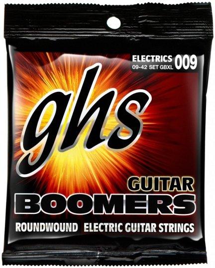 Struny GHS GBXL Boomers set 009-042 elektryk