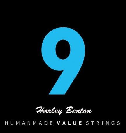 Struny HARLEY BENTON 9 elektryk