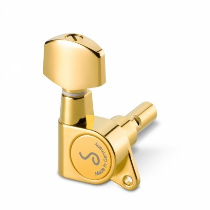 KLUCZE GITAROWE SCHALLER M6 135 3+3 GOLD