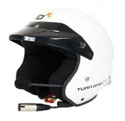 Kask Turn One Jet-RS (FIA) interkom Stilo Trophy