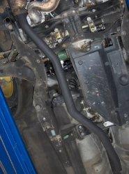 Rura układu wydechowego Hayward & Scott Subaru Impreza 06-07 2.5 (bez turbo)